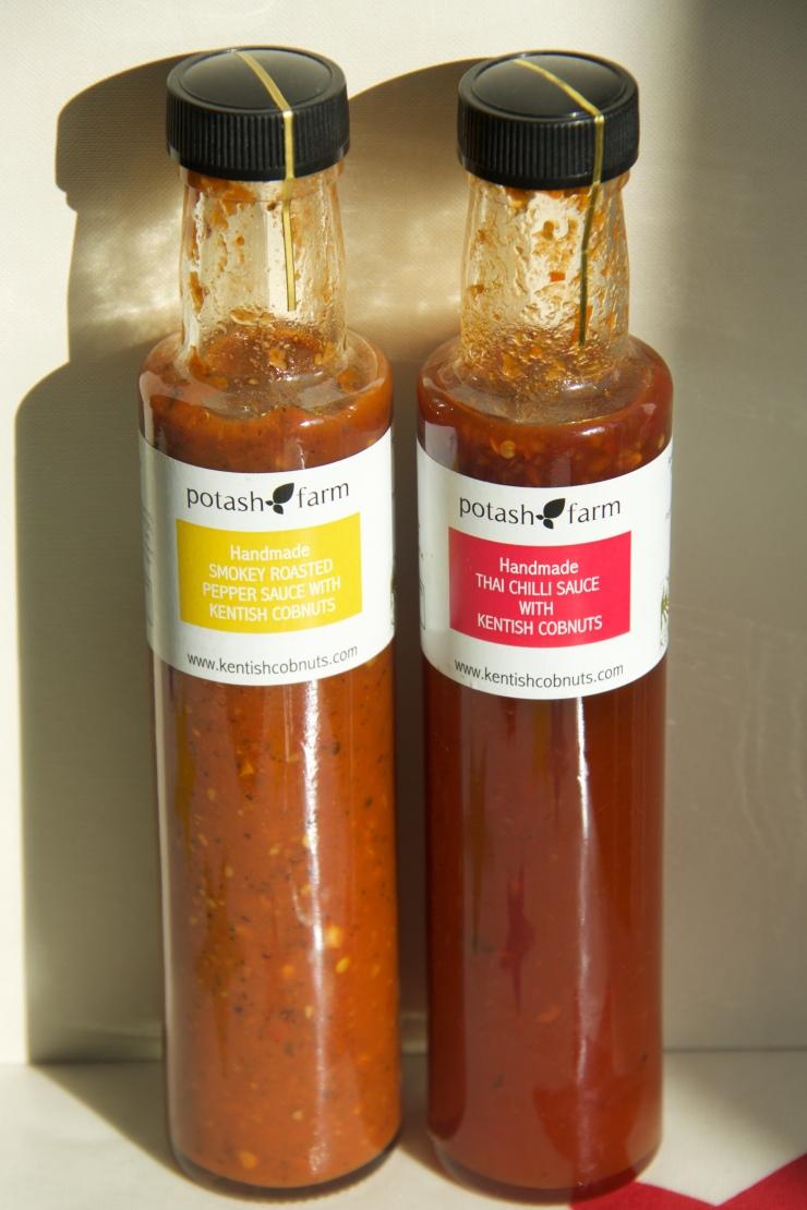 Potash Cobnut Sauces