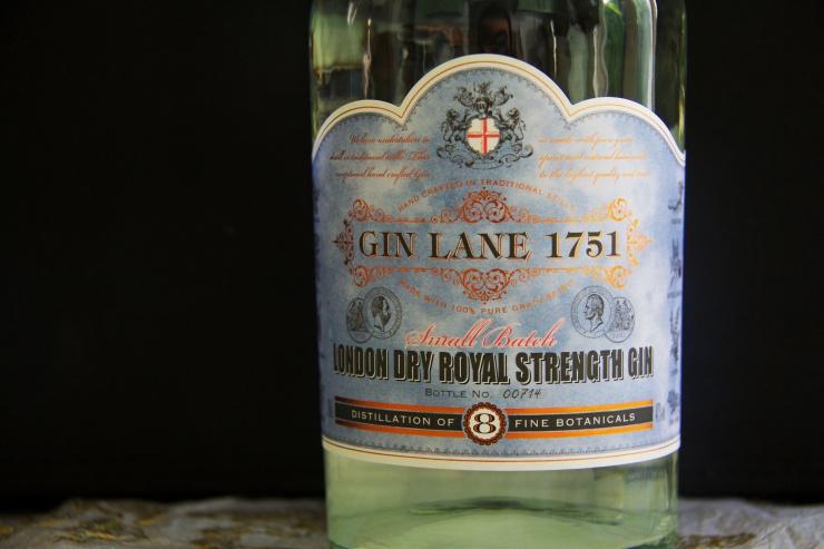 Gin Lane 1751, Label