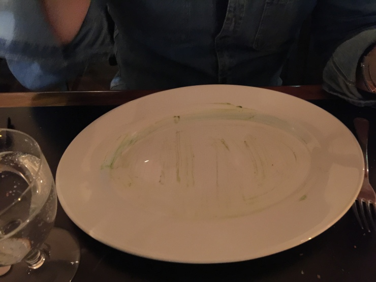 Empty Plate, South Place Hotel