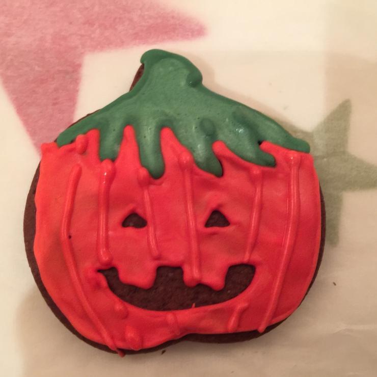 Pumpkin biscuit