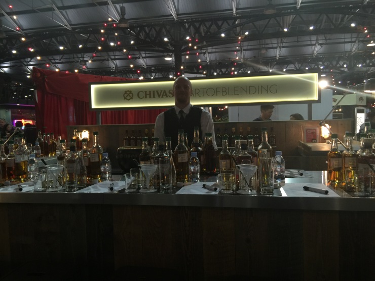 Chivas Regal Blending Stand