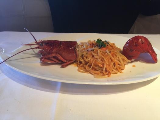 Lobster Pasta, The Cosmopolitan Hotel, Las Vegas