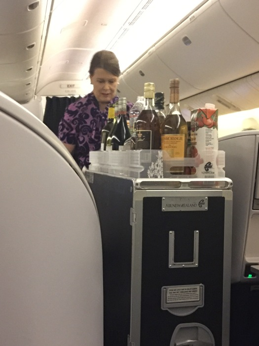 Air Stewardess, Air New Zealand