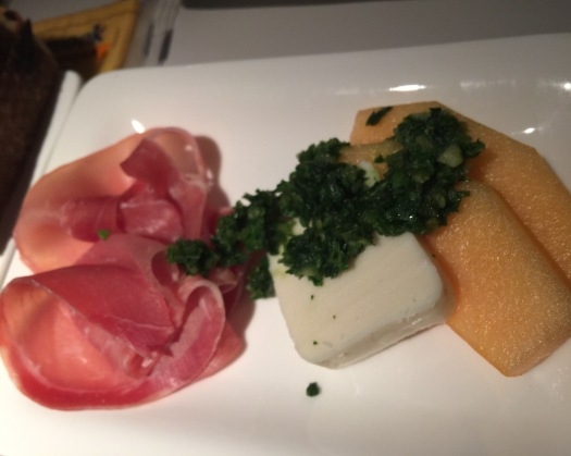 Prosciutto, Air New Zealand