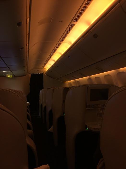 Lighting, Air New Zealand
