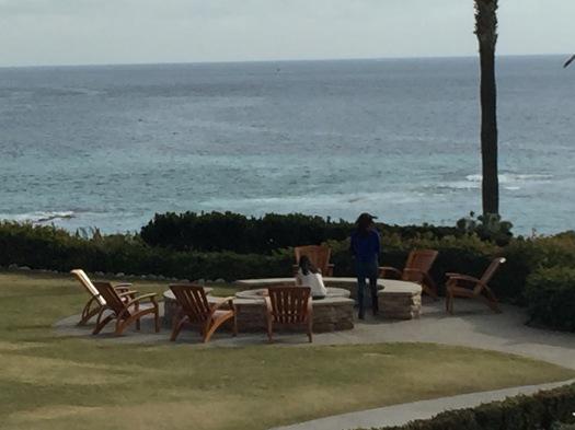 Firepit, Laguna Beach Hotel. Laguna Beach