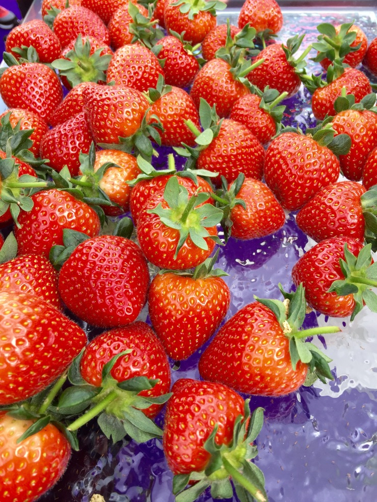Strawberries, Taste