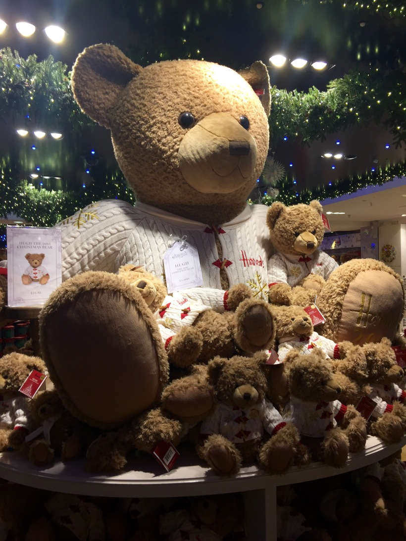 Hugh, Harrods Christmas Bear, 2016